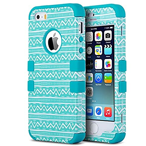 Coque iPhone 5S, ULAK iPhone SE Coque Housse de Protection