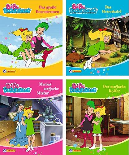 Nelson Mini-Bücher: 4er Bibi Blocksberg 25-28