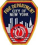 FDNY - Abzeichen (New Yorker Feuerwehr) 11,5 x 10 cm