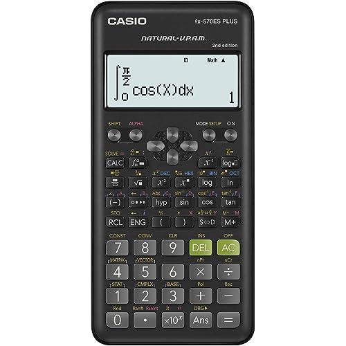Casio Fx-570Es Plus 2 - Calcolatrice Scientifica con 417 Funzioni e Display Naturale