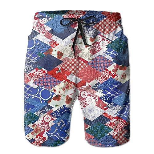 OPoplizg Men's Variety Printables Quick Dry Summer Beach Surfing Board Shorts Swim Trunks Cargo Shorts,L (Activity Halloween Printables)