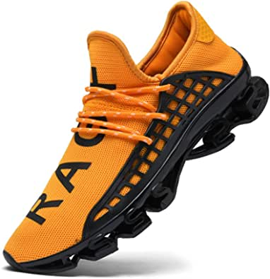 CAGAYA Sports Shoes Men's Running Shoes Trainers Mesh Breathable Sports Women's Trainers Casual Shoes Shoes Size 36-48