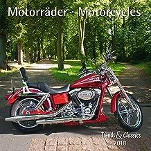 Motorräder Motorcycles 2018 - Broschürenkalender - Wandkalender - mit herausnehmbarem Poster - Format 30 x 30 cm