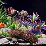 MIHOUNION 28.5cm Artificial Aquarium Plastic Plants Fish Tank Aquatic Ornaments Durable Realistic Tropical Vivarium… 11