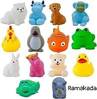 Ramakada Chu Chu Bath Toys for Baby Non-Toxic Toddler Set Multi Color