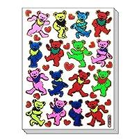 BearDance - 10 Sheets Dancing Bear Scrapbook Stickers, Animal Scrapbook Stickers - Reflective Stickers - Animal Stickers for Kids - Size 4 X 5.25 Inch./sheet by Sticker108