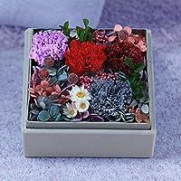 lkklily-valentine regalo del día de la madre día Clavel Clavel caja de cartón para las mujeres de regalo de cumpleaños