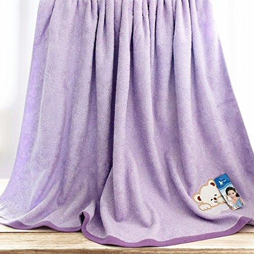 57651e5e0c47 ZHFC pur coton épaississement enfants serviette quilt bd square grande  serviette de bain bébé package accroître
