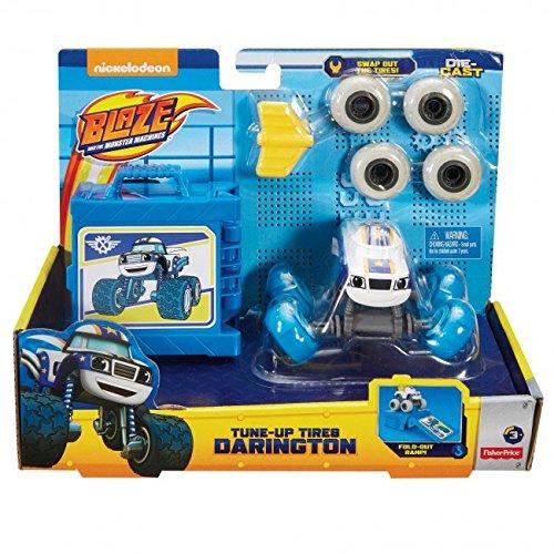 Blaze fhv38 - cambio gomme - macchinina monster truck giocattolo 3+ anni