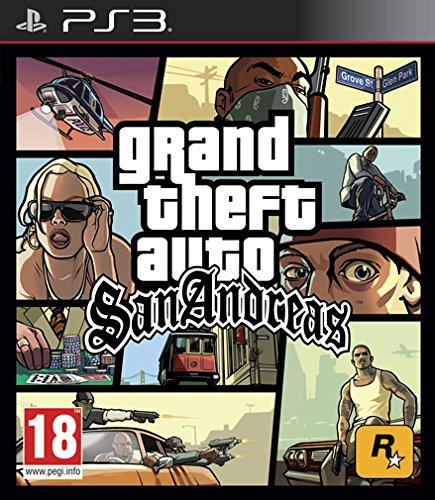 GTA: SAN ANDREAS PS3 (Andreas San Ps3 Grand Theft Auto)