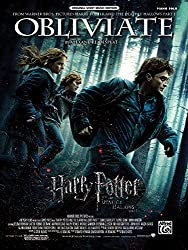 Obliviate: Harry Potter and the Deathly Hallows, Part 1, Piano Solo, Sheet