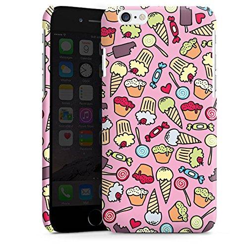Apple iPhone 4 Housse Étui Silicone Coque Protection Des sucreries partout Sucré Sucrerie Cas Premium brillant