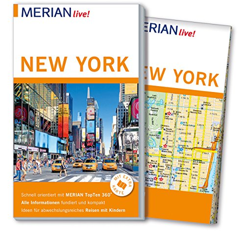 MERIAN live! Reiseführer New York: Mit Extra-Karte zum Herausnehmen