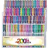 Reaeon 200 Gel Pens Coloring Set - 100 G...