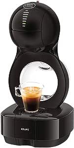 Krups Nescafé Dolce Gusto Lumio KP1308 Kapsel Kaffeemaschine, schwarz, 1,0 l