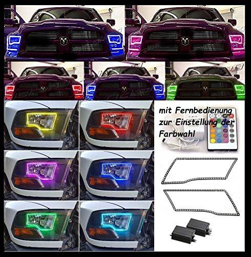 LED ANGEL EYES Scheinwerfer Tagfahrlicht (Multi Color)