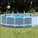 Intex Metal Steel Frame Stahlrahmen Pool 457 x 122 cm