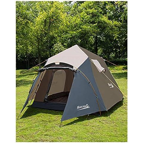 Makino-Tenda da campeggio per 4 persone,