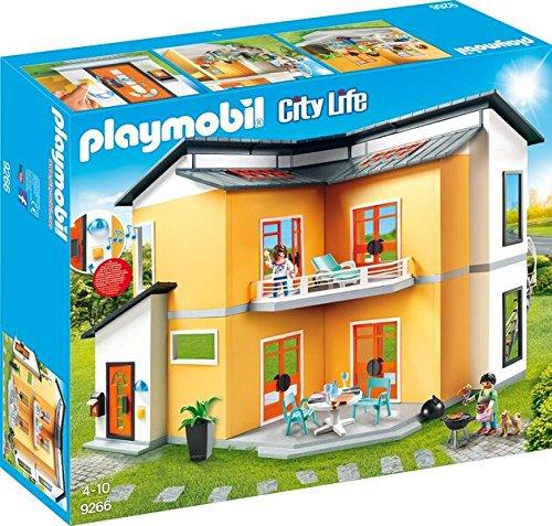 Playmobil 9266_9272 Modernes Wohnhaus Set 1 - 7er Set - 9266 + 9267 + 9268 + 9269 + 9270 + 9271 + 9272 -