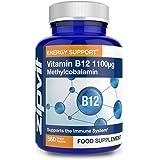 Vitamin B12 High Strength 1100mcg Methylcobalamin, 360 Vegan B12 Tablets (12 Months Supply). Vegetarian Society Approved.