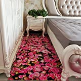 DXG&FX Bereichswolldecke 3d druck und färben von teppichen schlafzimmer floor bequeme mat nicht-slip waschbar-F 160x240cm(63x94inch)
