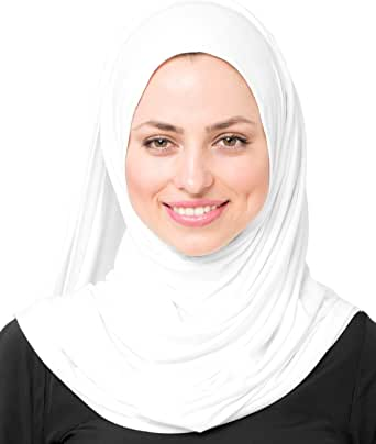 Inessence/© New voile di cotone sciarpa donna Wrap Hijab