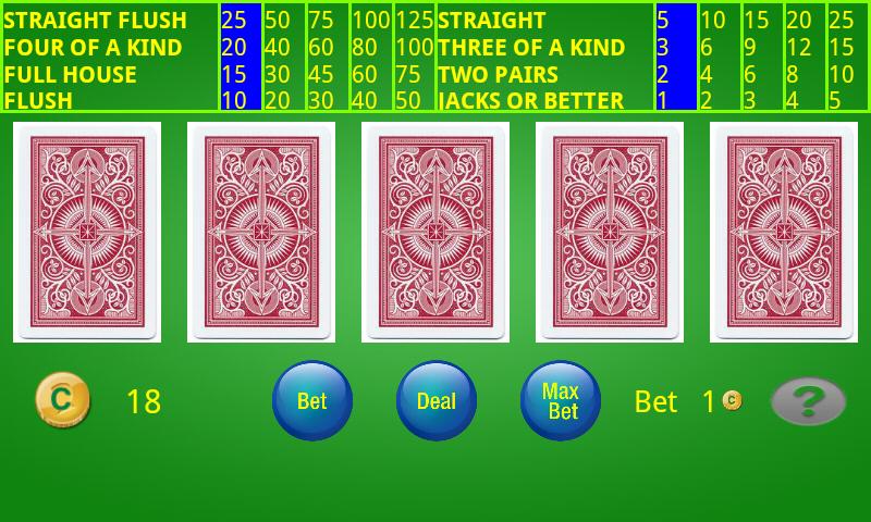 Machines de vidéo poker pour adultes