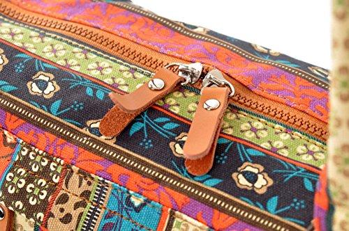 #DoYourYoga Yogatasche Damayanti Muster 2 Zipp
