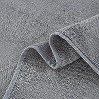 Sufely® Cotone + in fibra di bambù asciugamano da bagno (dimensioni: 70* 140cm asciugamani da (Nutriente Lavare A Mano)