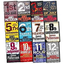 James Patterson Womens Murder Club 12 Books Collection Pack Set (1st To Die, 2nd Chance, 3rd Degree, 4th of July, The 5th Horseman , The 6th Target , 7th Heaven , 8th Confession , 9th Judgement, 10th AnniversaryN, 11th HourNew, 12th of Never)
