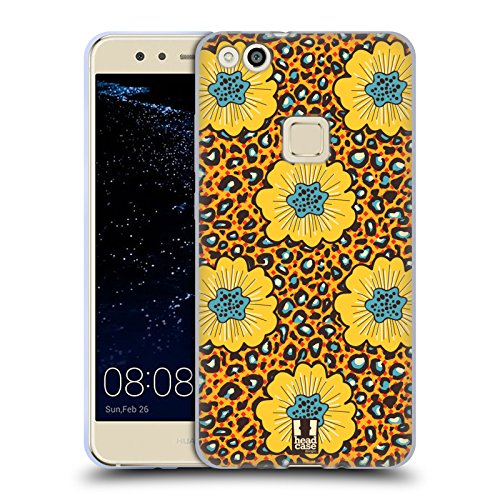 Head Case Designs Afrikanische Blüten Multikulturelle Ethnische Drucke Soft Gel Hülle für Huawei P10 Lite