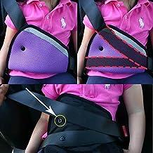 Segura Fit engrosamiento del cinturón de seguridad del coche Ajuste de dispositivos de seguridad para niños del bebé de la correa Protector cinturón de seguridad posicionador