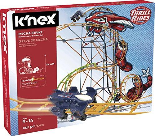 K'Nex - Thrill Rides Montaña Rusa Mecha Strike, 540 Piezas (Fábrica de Juguetes 41228.0)