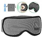 Schlafmaske Damen und Herren, Voluex NULL-Druck 3D konturierte Schlafbrille Nachtmaske,100% blockiert Licht, atmungsaktive Memory-Schaum Augenmaske, verstellbares Stirnband, Inklusive...