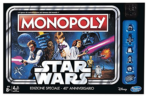 Hasbro – Monopoly Star Wars 40th Anniversary
