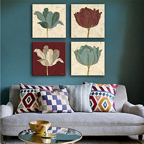 4-pcs-peinture-crative-fleurs-dcorative-giclee-toiles-frameless-peintures-sur-toile-wall-art-for-liv