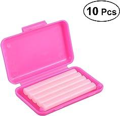 Healifty 10pcs Dental Orthodontic Wax for Orthodontics Braces Wearer Strawberry Flavor (Pink)