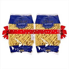 Solasz Penne Rigati Durum Wheat Pasta, 500gm (Pack of 2)