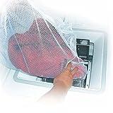 MSV 100176Netz DE LAVAGE Feinwaschmittel Polyester Weiß 60x 90x 0,1cm