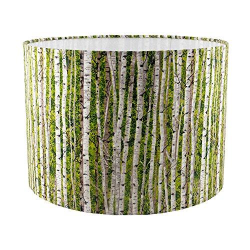 silver-birch-handmade-fabric-drum-lampshade-green