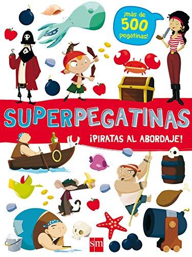 Superpegatinas¡ piratas al abordaje! por De Agostini Libri
