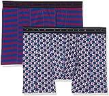Scotch & Soda Herren Boxershorts Boxer Short in Colourful All-Over Print & Stripe, 2er Pack, Mehrfarbig (Combo B 0218), Medium