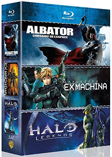 Coffret japanim 2014 : albator ; halo legends ; appleseed ex machina [Blu-ray] [FR Import]