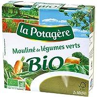 La Potagere Bio mouliné légumes verts les 2 brique de 30cl - Precio por unidad