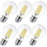 Lot de 6 ampoules LED E27, 10 W (équivalent à 100 W), 1200 lumens, lumière chaude