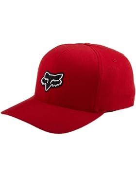 Fox Legacy Flexfit Gorra para Hombre Rojo Rojo Talla:S/M