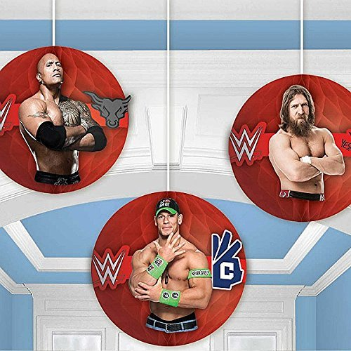 (Amscan International 29146717cm WWE Honeycomb Dekoration Kit)