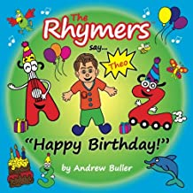 """The Rhymers say...""""Happy Birthday!"""": Theo"""