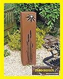 Jabo Design Rost Säule RS61 XL kostenloser Versand Rostsäulen Säulen Deko Garten Blumensäule rostsäule rostig