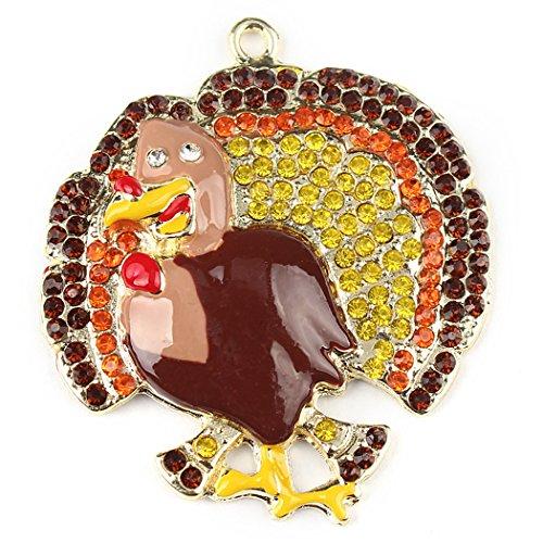er, Funpa Türkei Anhänger dekorative DIY Anhänger Thanksgiving Herbst Schmuck (Diy-türkei-kostüm)